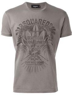 DSQUARED2 Logo T-Shirt. #dsquared2 #cloth #t-shirt