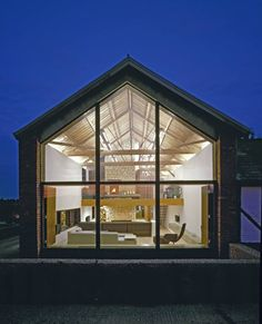barn conversion, love the glass, makes the most of the light!