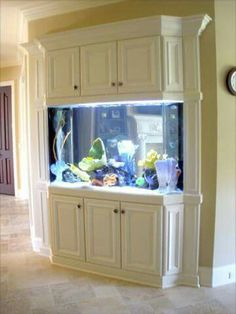 Custom built aquarium