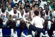 Basket - Magic Scottie Pat Larry Michael, dream team