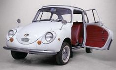 Subaru 360 'Ladybird' - we had one of these in the showroom for a while.  One of the first brought to Canada...