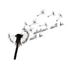 Dandelion Tattoo ... I want this on my shoulder without the words by AislingH