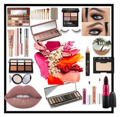 """""""Makeup lovers"""" by lizz-med ❤ liked on Polyvore featuring beauty, Urban Decay, NARS Cosmetics, Gucci, Lime Crime, Too Faced Cosmetics and MAC Cosmetics"""