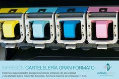 Impresión cartelería gran formato Método Gráfico