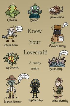 Know Your Lovecraft!