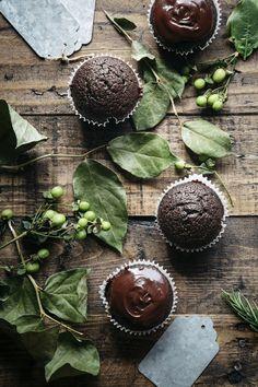 dark chocolate espresso cupcakes