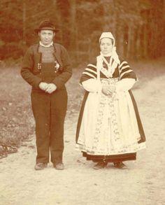 costume féminin bigouden vers 1880