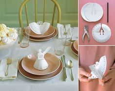 Creative Ideas - DIY Paper Plate Angels
