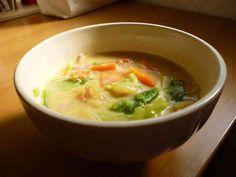 野菜たっぷり☆豆乳クリームスープの画像