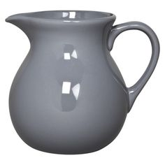 Home Grey Stoneware Pitcher.Opens in a new window