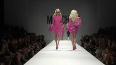 MOSCHINO spring/summer 2015 fashion show..Barbie<3