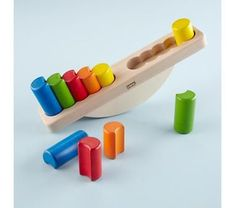 I have this in my toddler classroom.  My 2.5+ kids love it!! The younger ones have a harder time because the shape is difficult and the movement of the puzzle. It is a great work to have on the shelf to challenge all my students. #Woodentoys