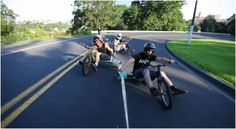Trike Drifting Clip by Devin Graham (2 Clips)