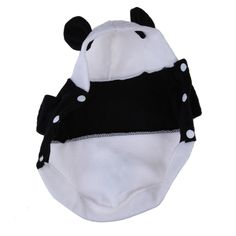 Pet Dog Clothes For Dogs Pets Costume Clothing Fleece Panda Ear Hoody Clothes Pullover Coat Costume Outwear ropa para perrosFEN#