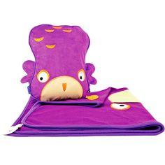 Manta y almohada de viaje B�ho lila - Trunki B�ho                              …