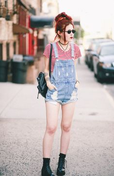Overalls – ASOS Crop top –shop below Shoes – She In Backpack – shop below Nothing beats a good classic summer look involving overalls andstripes. This particular pair of dungarees are definitely my favorite so far. Never thought a brand new pair would compete so well with my vintage classic 90s ones. ASOS definitely delivered:... View Article