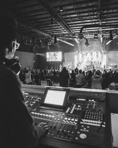 We're so #thankful for our sound, lights, camera, and tech control team. Give them a good high five on Sunday!