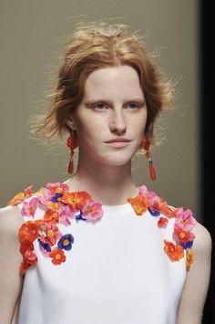 Alberta Ferretti Spring 2014 #floral