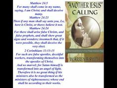ANOTHER JESUS CALLING - Guest: Warren Smith -  The New Age, Purpose Driven, and Deception in the Church - Part 1