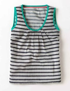 Yes, stripes again, but they are always perfect. Pretty Printed Tank Top at Boden