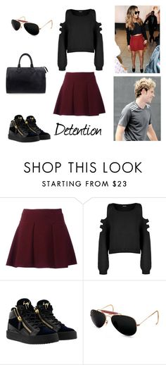 """3.1"" by ronniebenett ❤ liked on Polyvore featuring Little Me, WearAll, Ray-Ban and Louis Vuitton"