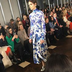 As beautiful as a piece of #wedgewoodchina @toryburch #fashionweek #nyfw #frontrow  via MODERN LUXURY MAGAZINE OFFICIAL INSTAGRAM - Luxury  Lifestyle  Culture  Travel  Tech  Gadgets  Jewelry  Cars  Gaming  Entertainment  Fitness