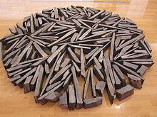 South Bank Circle by Richard Long, Tate Liverpool, England. (1991)