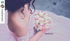 """""""#Repost @mediamem with @repostapp.  Luxury Bridal Bouquet  for our beautiful bride Nazan   Beste ladies, onze Bouquet service is ook beschikbaar voor…"""""""