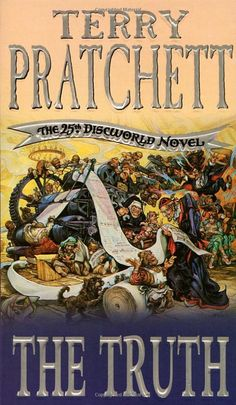 The 25th #Discworld novel by Terry #Pratchett
