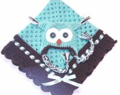 Hand-Gehaakte oma vierkante haak baby deken door TheShimmeringRose