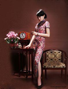 旗袍摄影:三坊七巷 - 倾城网