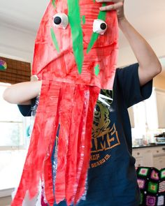 i'm the biggest thing in the ocean (book) craft #kids #craft