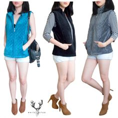 original vest from whitestag avail frm S-2XLAuthentic Whitestag price 98rb material:76%cotton thick 24%polsyter (thick vest)  measurement: (bust/length) S (86/58) M (92/60) L (98/61) XL (104/62) XXL (110-120/64) 2-3CM error tollerance