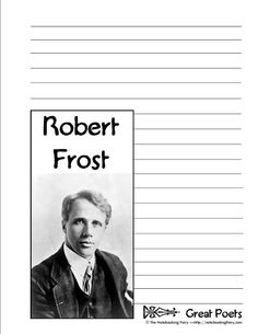 Robert Frost Notebooking Pages from The Notebooking Fairy