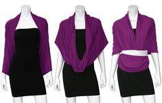 How to Wear Infinity Scarves | ten ways to wear an infinity scarf