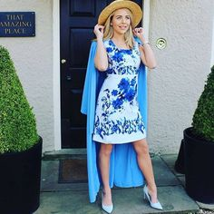 """When the beautiful Lydia Bright wore Darling London's """"Valentra"""" dress. Such a gorg summer look!"""