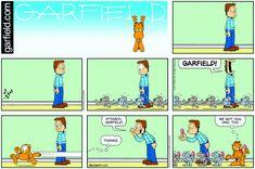 Garfield   Daily Comic Strip on April 23rd, 2017