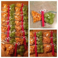 We used these for a bake sale once. Great idea for when it is your turn to provide a snack for your kid's class, or great for in the lunch box.