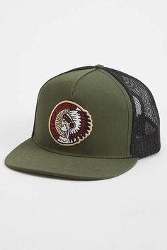 df79281feba Cherokee Trucker Hat - Iron   Resin - Hats   JackThreads Trucker Hats