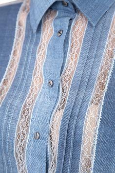 Женская рубашка ERMANNO SCERVINO длинный рукав, цвет  купить за 53880 руб. SS'17 в интернет магазине Intermoda.