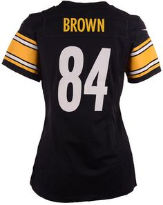 58cbe3b4f Nike Women s Antonio Brown Pittsburgh Steelers Game Jersey Pittsburgh  Steelers Game