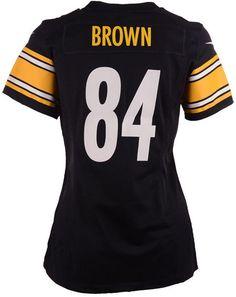 60a160b1 Nike Women's Antonio Brown Pittsburgh Steelers Game Jersey Pittsburgh  Steelers Game, Antonio Brown, Nike