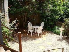 Cast iron furniture Iron Furniture, Outdoor Furniture, Outdoor Decor, Furniture Redo, Outdoor Spaces, Outdoor Living, Backyard, Patio, Fig Tree