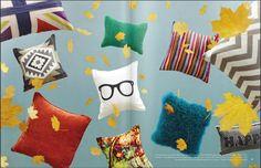 trendy nerd glasses on a pillow :)