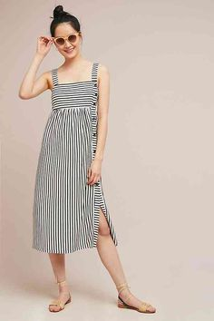 371ac89a4c Slide View  1  Fiona Striped Midi Dress Summer Dress Outfits