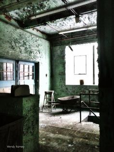 Forsaken Places: There were voices down the corridor, I thought I h...