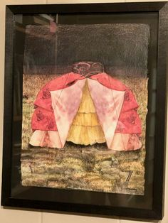 This is one of my collages, that could also potentially become a sculpture. The image can be a tent or a skirt. Circa 1977-1978. NikiKetchman.com #TBT #FineArt #ContemporaryArt #Collage #MixedMedium