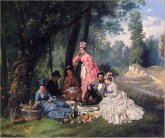 Antonio-Garcia-y-Mencia-The Picnic-Private-Collection