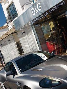 Shopping in Puerto Banús, Marbella, Spain Marbella Old Town, Marbella Spain, Beautiful Places In The World, Places Around The World, Around The Worlds, Nerja, Puerto Banus, Andalusia, Scenery