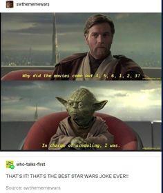Star Wars Clone Wars, Star Wars Art, Tumblr Funny, Funny Memes, Funny Fails, True Memes, Stupid Memes, Tableau Star Wars, Star Wars Jokes